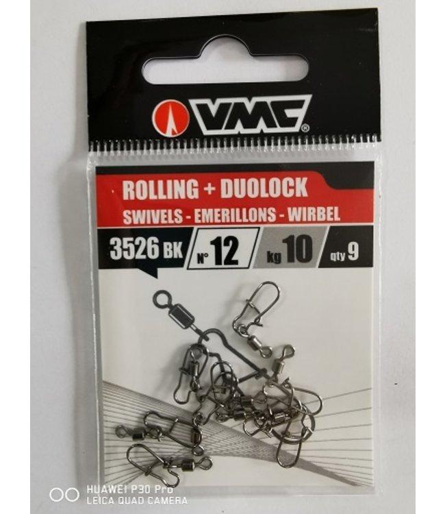 VMC VMC BK3526 Rolling + Duolock Karabiner mit Wirbel