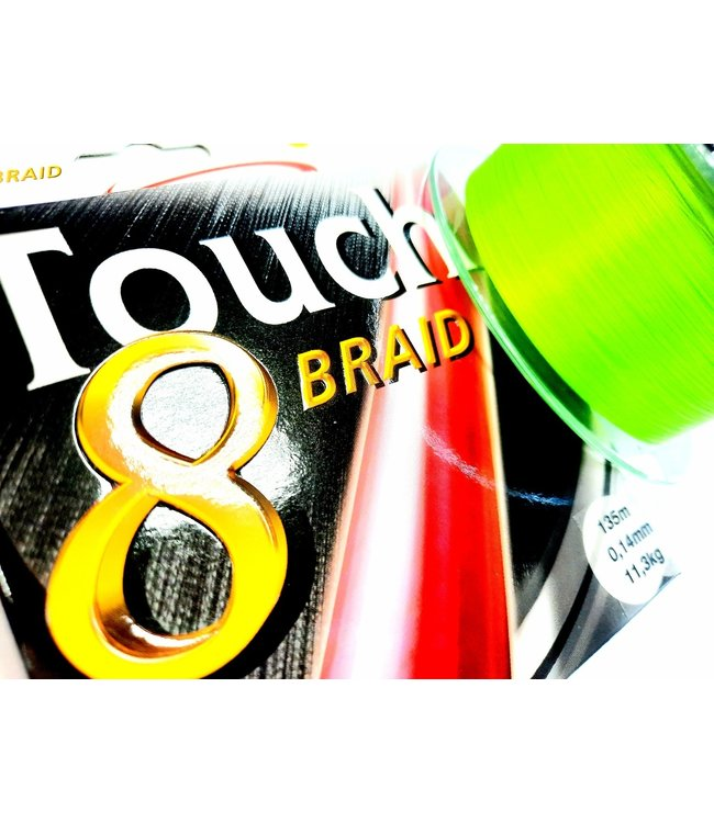 Climax Climax Touch 8+ Plus Braid Chartreuse 135m