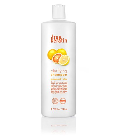 True Keratin Reinigende grapefruit shampoo met geur van Aloë