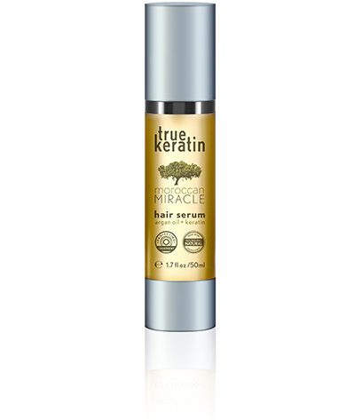 True Keratin Hair Serum, Miracle Moroccan met Argan olie