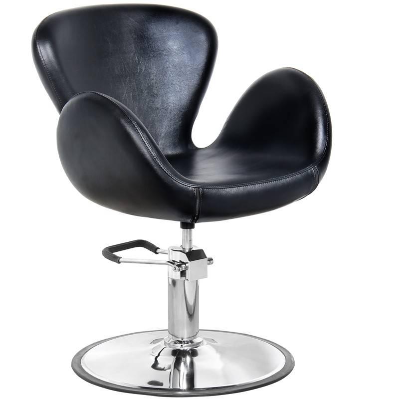 Gabbiano GABBIANO HAIRDRESSING CHAIR AMSTERDAM BLACK