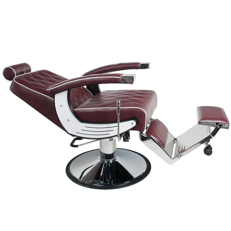 Activeshop® GABBIANO BARBER CHAIR IMPERIAL BORDO