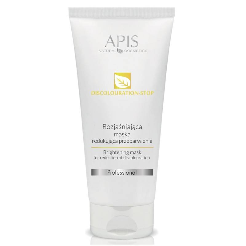 APIS Maska rozjaśniająca, redukująca przebarwienia 200ml