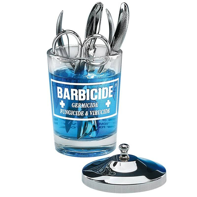 Barbicide BARBICIDE GLAS CONTAINER VOOR DISINFECTIE 120ML