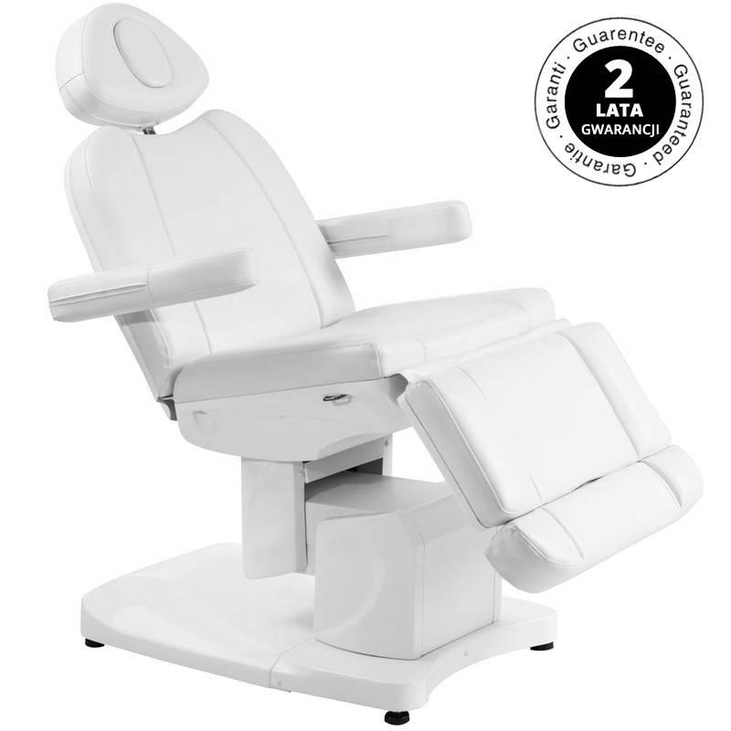 Azzurro Treatment chair electric AZZURRO 708A with 4 motors, white
