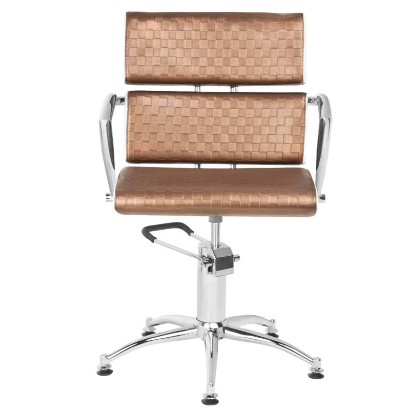 Gabbiano GABBIANO HAIRDRESSING CHAIR ESSEN BROWN-BEIGE