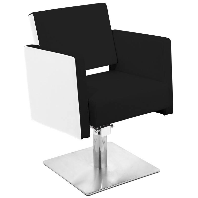 Gabbiano GABBIANO HAIRDRESSING CHAIR MADRID BLACK-WHITE