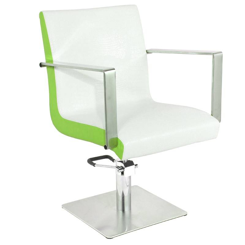 Gabbiano GABBIANO HAIRDRESSING CHAIR WHITE-GREEN