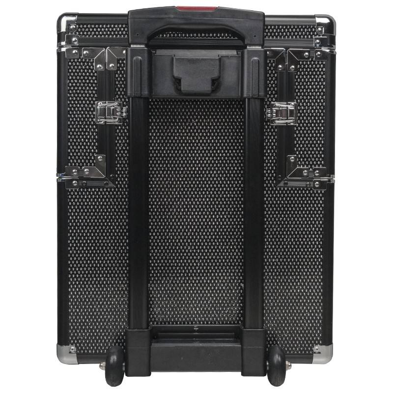 Activeshop® BEAUTY CASE D9008K BLACK CRISTAL