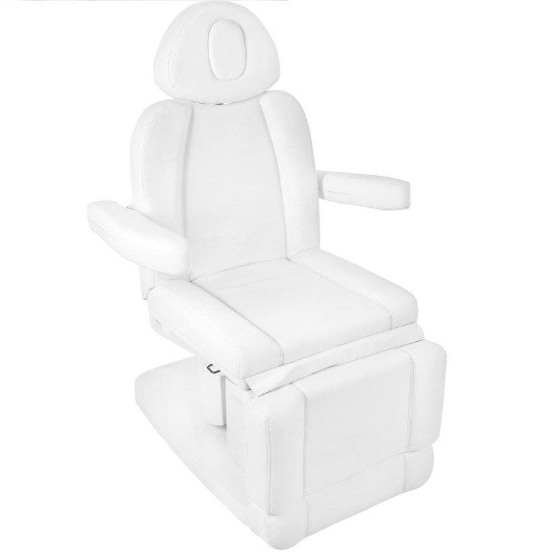 Azzurro Treatment chair electric AZZURRO 708A with 4 motors, white