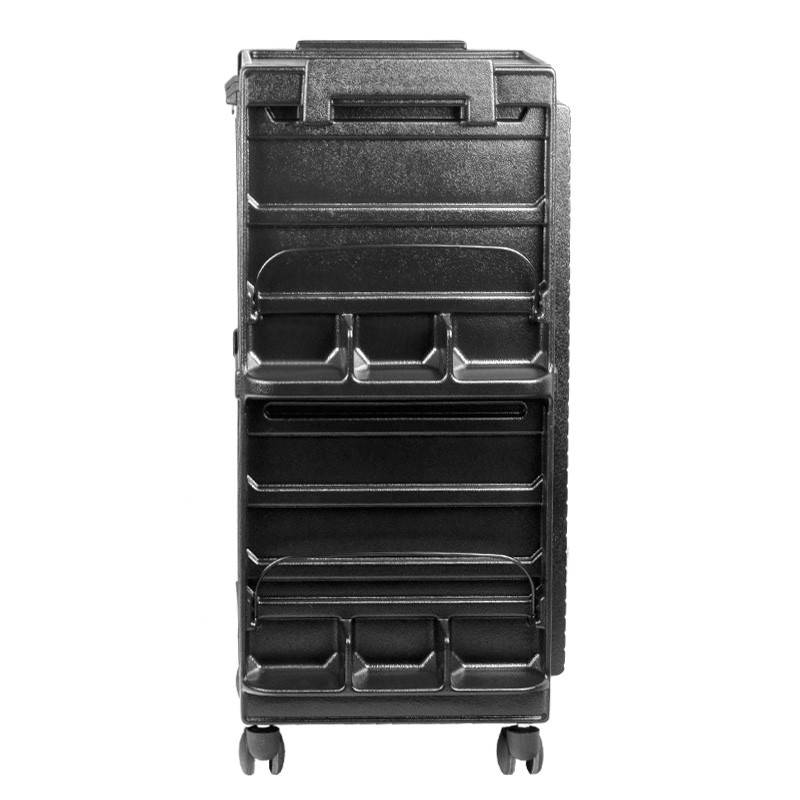 Gabbiano GABBIANO HAIRDRESSER TROLLEY 700 BLACK