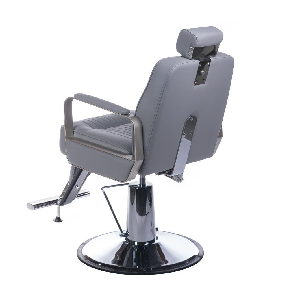 Beautysystem BARRIER CHAIR, BARBIER CHAIR HOMER BLACK - Copy