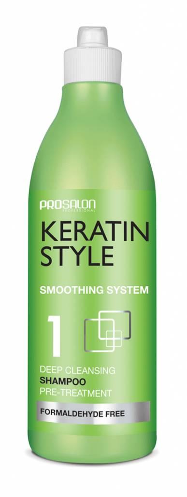 Prosalon Prosalon Keratin Style nr.1 Diep Zuivert Shampoo 275 ml