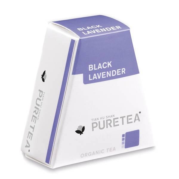 Pure Tea Black Lavender thee