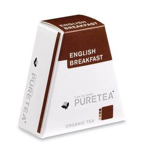 Pure Tea English Breakfast White Line 18 stuks