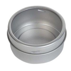 Theeblikje magnetisch 65x30mm
