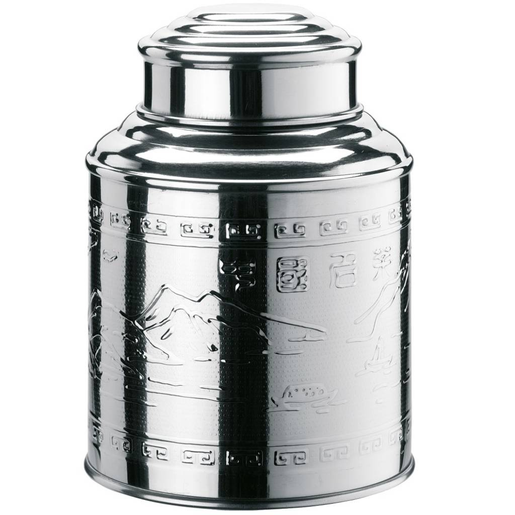 Tea Caddy glans 80x105mm 300 ml