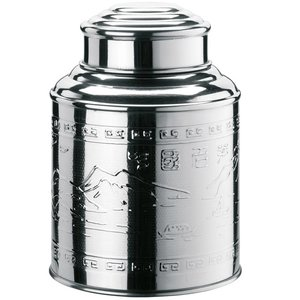 Theeblikje glans 98x135mm 200 gram
