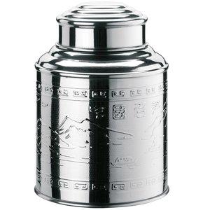 Theeblikje glans 115x150mm 300 gram