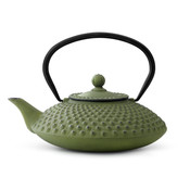 Bredemeijer Theepot Xilin 1.25 L gietijzer groen