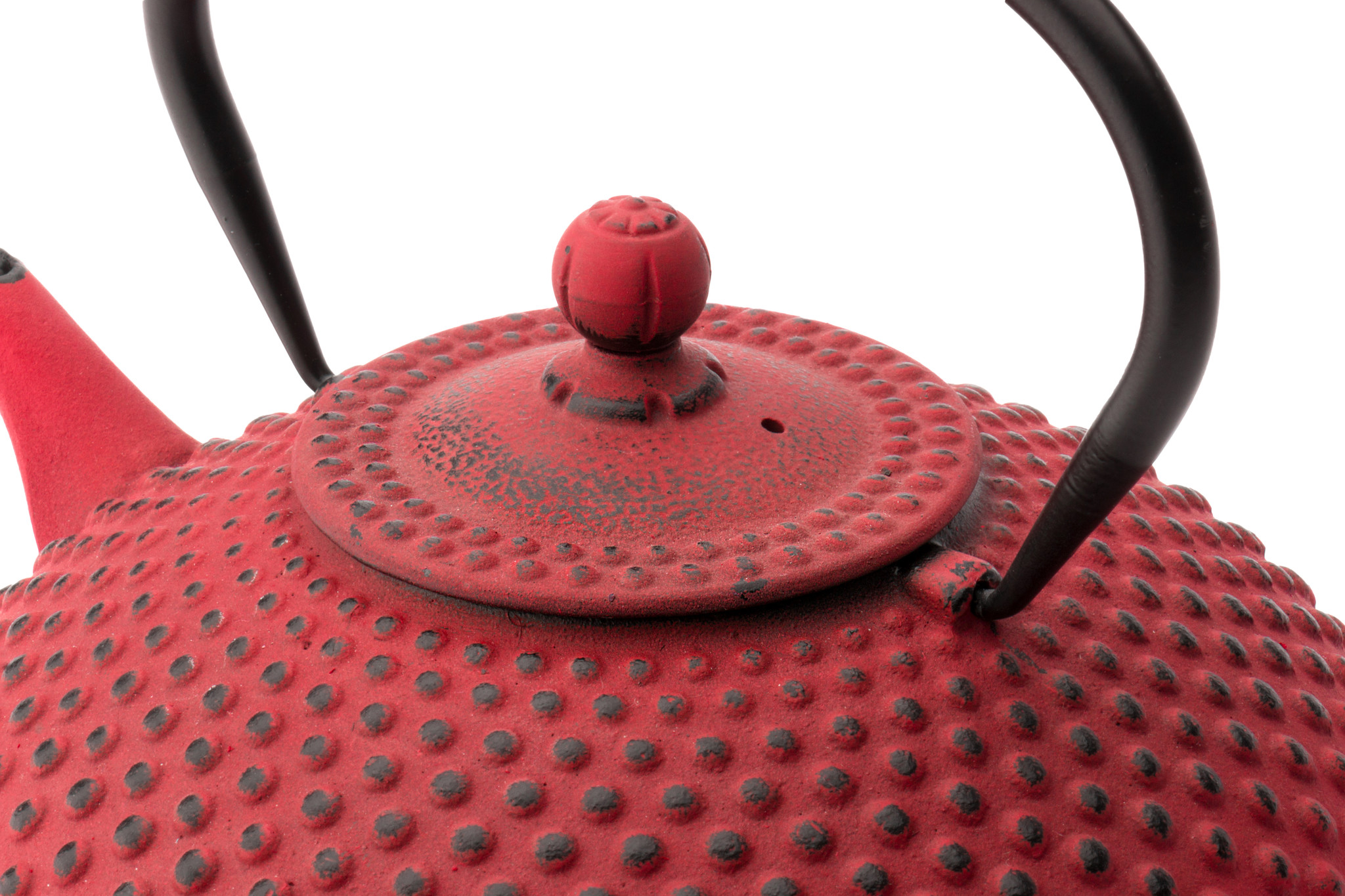 Bredemeijer Theepot Xilin 1.25 L gietijzer rood