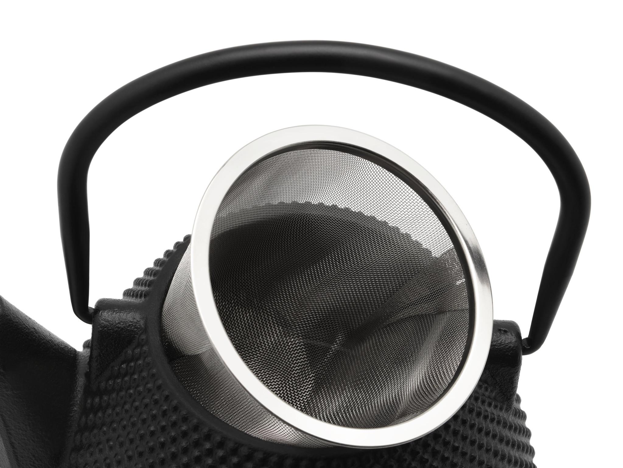 Bredemeijer Theepot Wuhan 1.0 L gietijzer zwart