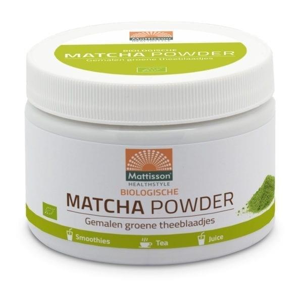 Matcha poeder Biologisch 125 gram