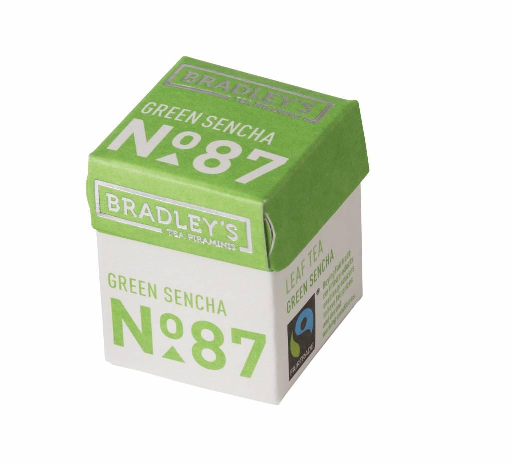 Bradley's Piramini Sencha tea 87