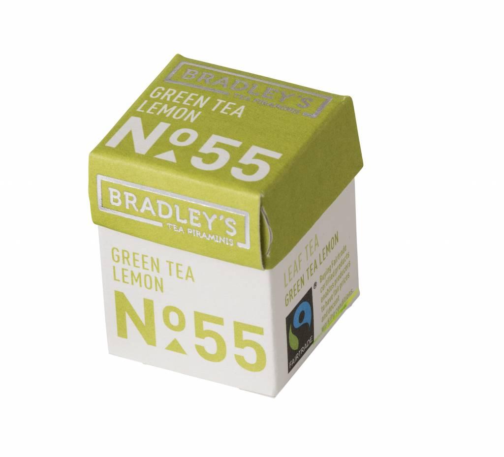 Bradley's Piramini Green Lemon tea 55