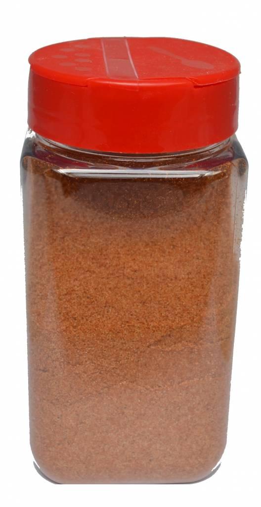 Strooibus kunststof 475 ml met rode deksel