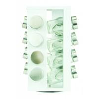 Kruidenrek wit met 16 potjes serie Soho