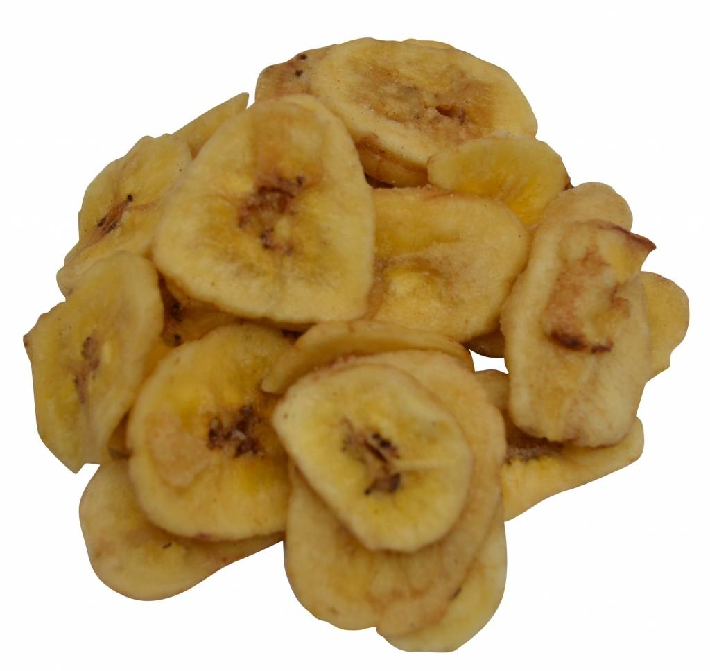 Bananenchips gezoet