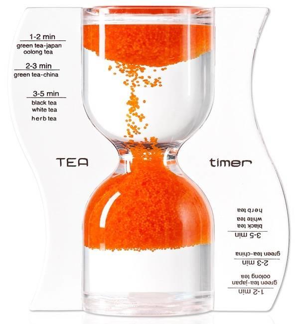 omgekeerde theezandloper oranje