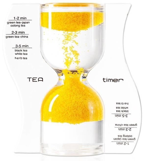 omgekeerde theezandloper geel