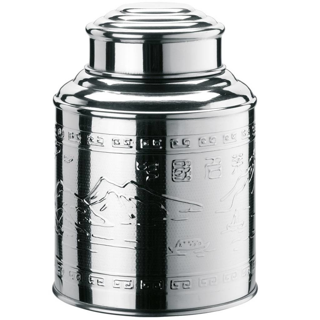 Tea Caddy glans 98x135mm 200 gram