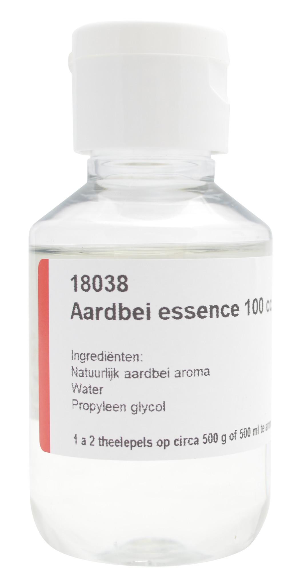 Aardbei essence 100 cc