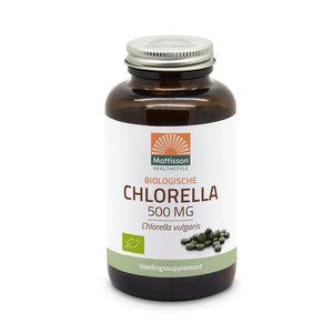 Mattisson Chlorella Biologisch 240 tabletten