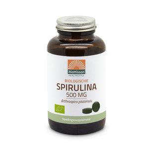 Mattisson Spirulina Biologisch 240 tabletten