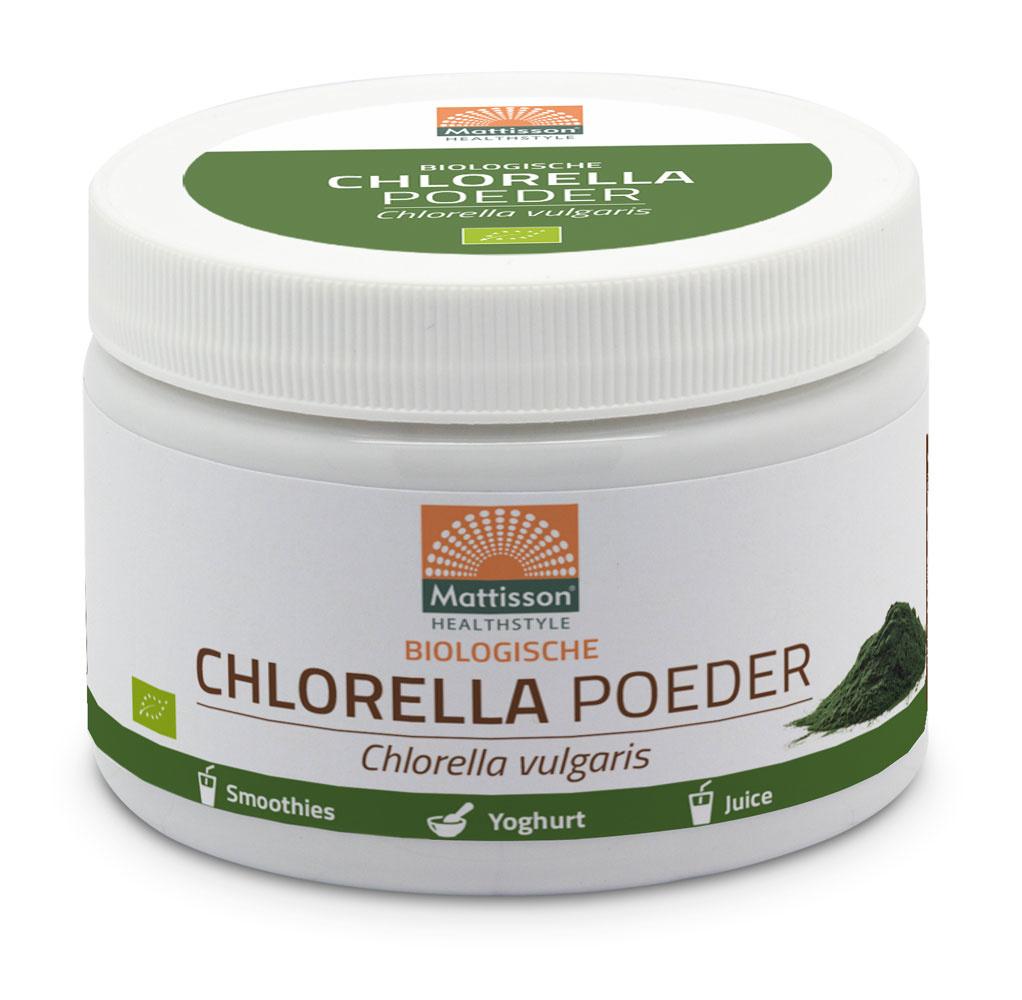 Chlorella poeder Biologisch