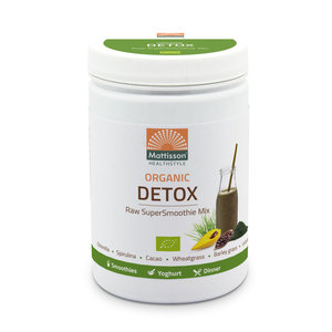 Mattisson Detox Supersmoothie Mix Raw Biologisch 300 gram