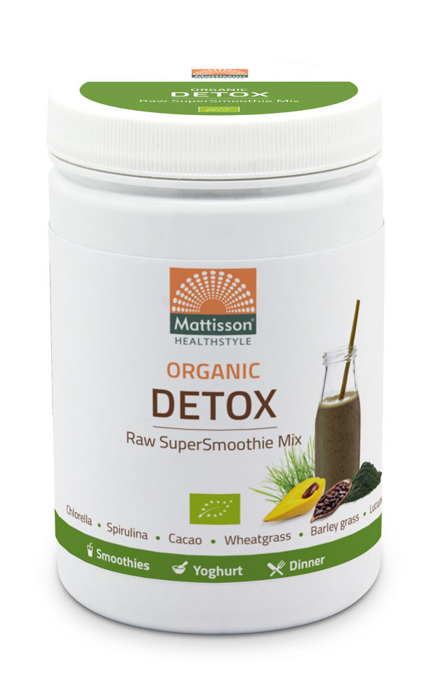 Mattisson Detox Supersmoothie Mix Raw Biologisch