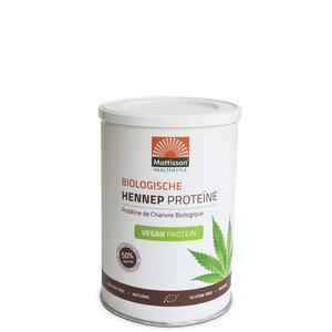 Hennep poeder vegan Biologische proteine 400 gram