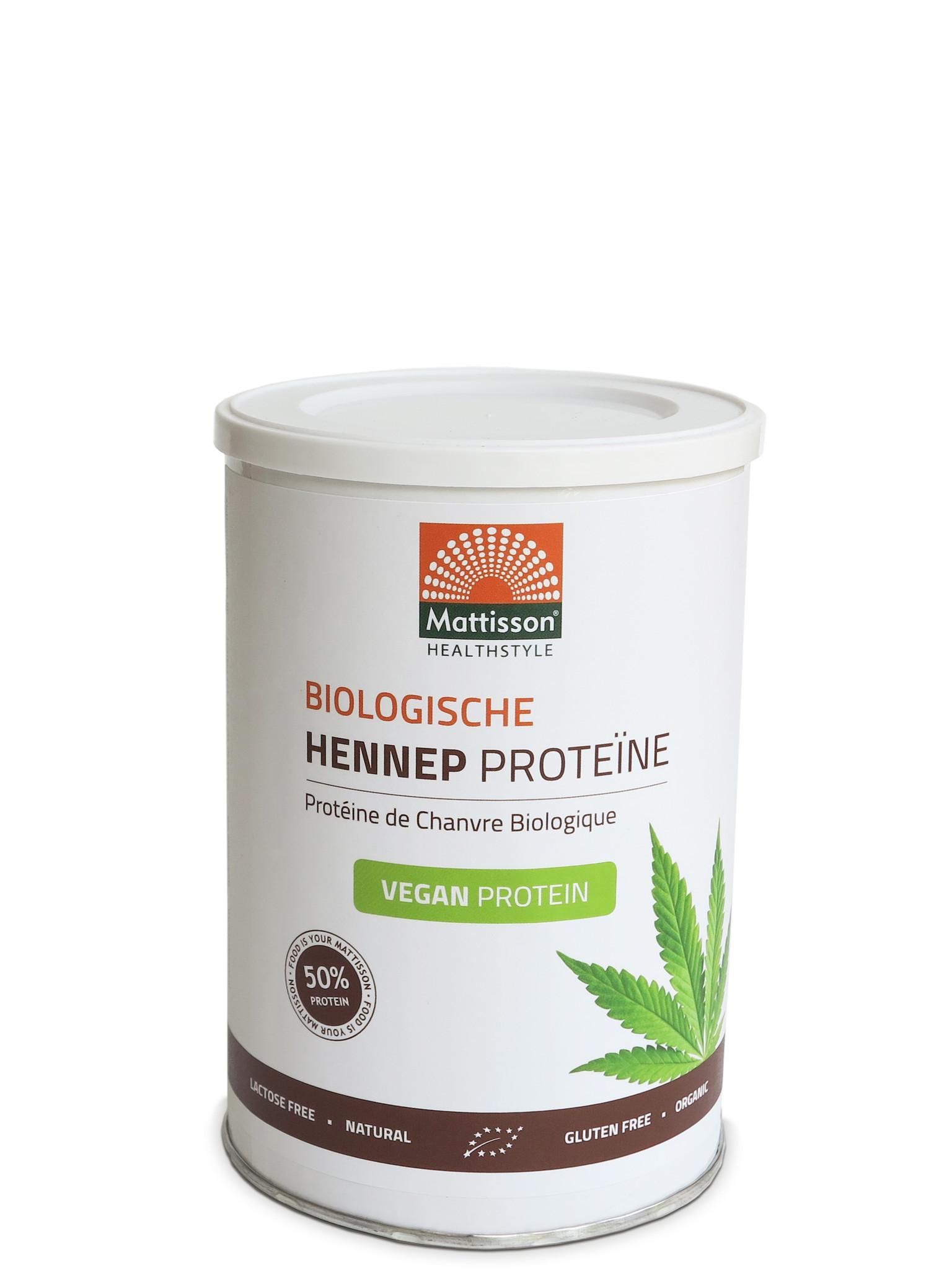 Hennep poeder vegan Biologische proteine