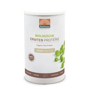 Mattisson Erwten  poeder vegan Biologische proteïne 350 gram