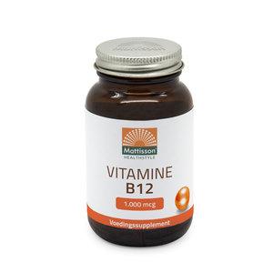 Vitamine B12 1000 mcg 60 zuigtabletten