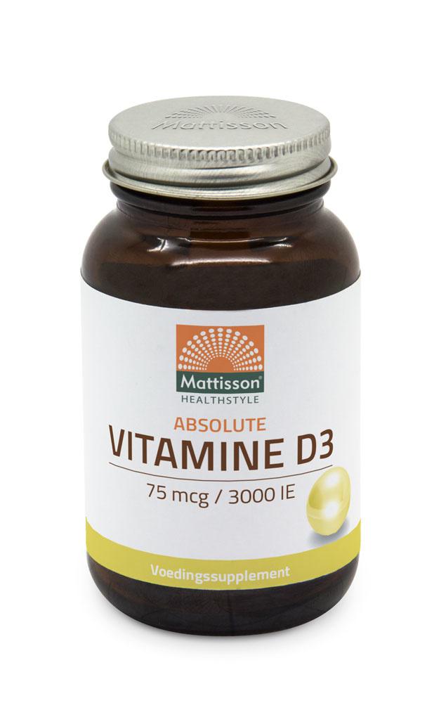 Vitamine D  75 mcg capsules