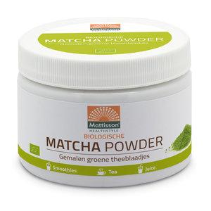 Mattisson Matcha poeder Biologisch 125 gram