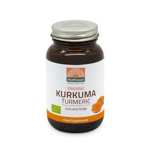 Mattisson Kurkuma Biologisch 120 capsules
