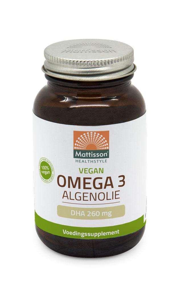 Algenolie Omega-3 capsules