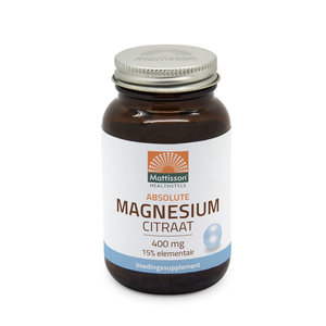 Mattisson Magnesium citraat 60 capsules